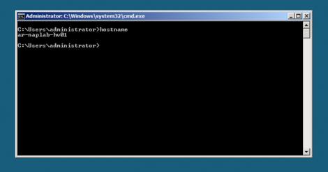 HyperV Server Core after Restart 1
