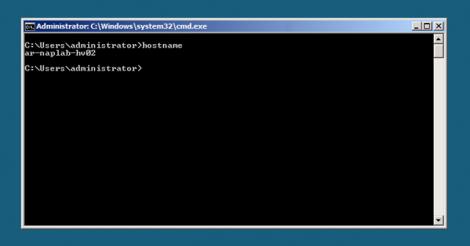 HyperV Server Core after restart 2