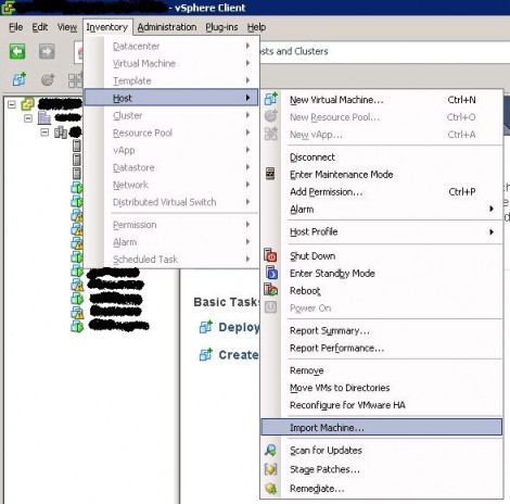 vmware vcenter convertor how to start it
