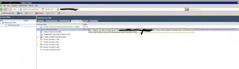 RM NetApp Hidden Qtree error