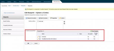 vCAC  6 Custom Hostname custom property
