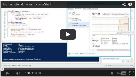 Veeam Getting Stuff done with PowerShell