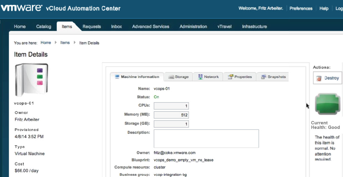 VMware vRealize Automation 6 2 is now available for download