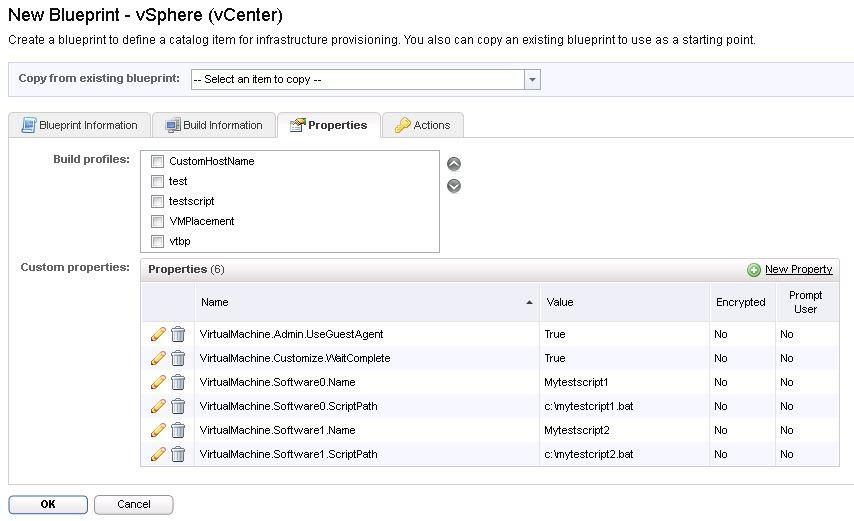 vRA gugent running two script in windows