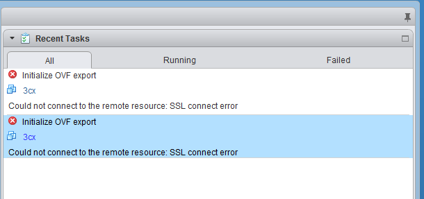 Could not connect to the remote resource ssl connect error