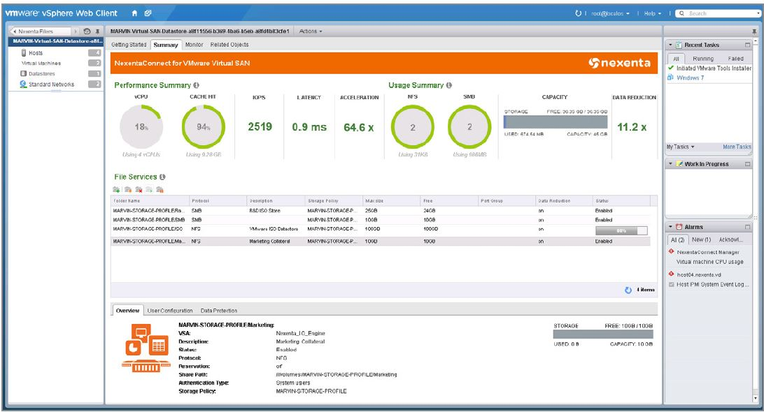 Serve NFS and CIFS from your VMware Virtual SAN