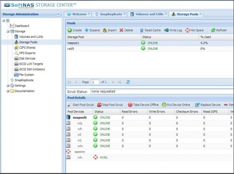 SoftNAS CIFS & NFS for VMware Virtual SAN