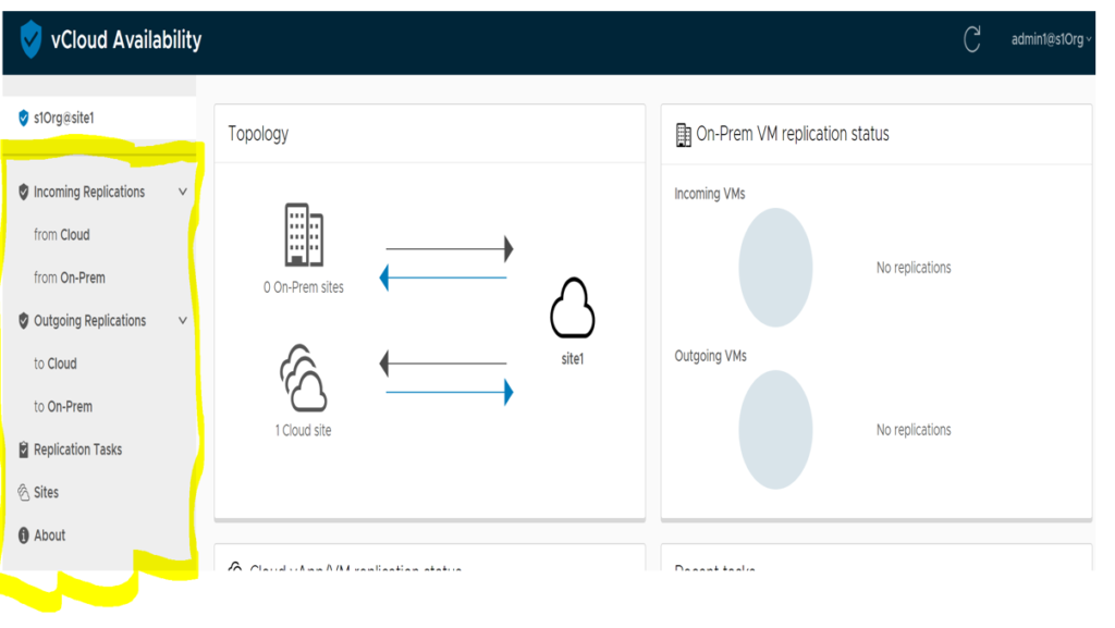 vCloud Availability 3.0 Combined Solution